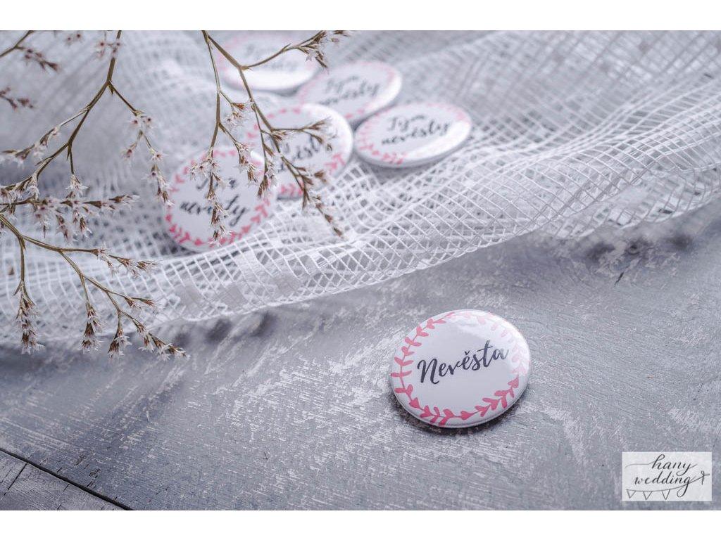 18 placky na rozlučku tým nevěsty nevěsta (7)